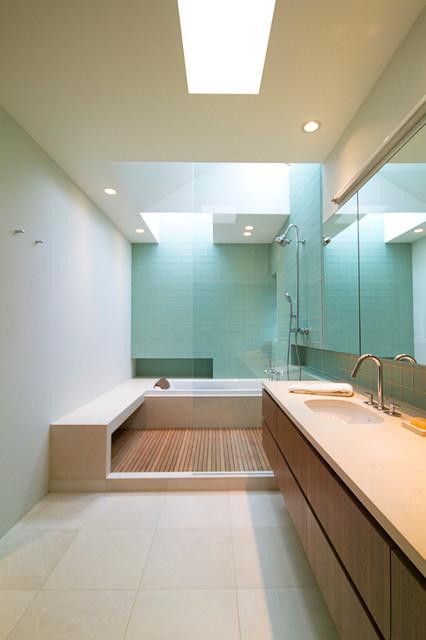 Unique Contemporary Bathroom by SHED Architecture u Design