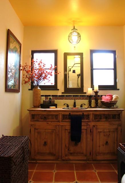 Spanish Bathroom mediterranean-bathroom