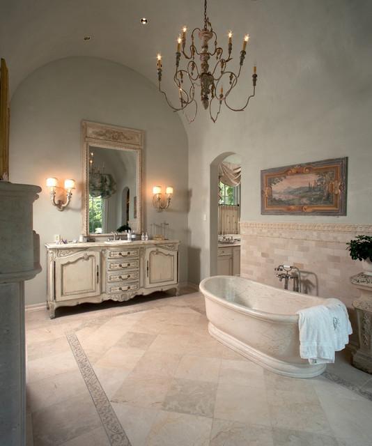 Interior mediterranean-bathroom
