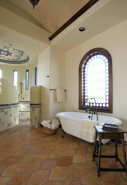 Jauregui Mediterranean Bathroom Austin By Clay Imports