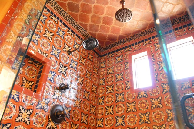 Mediterranean Bathroom By Clay Imports