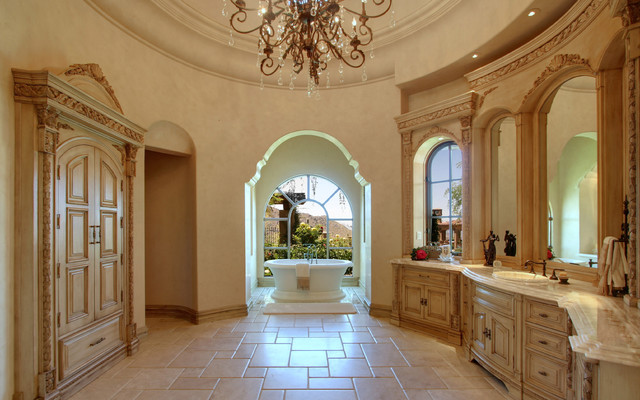 Mediterranean Style Luxury Bathrooms