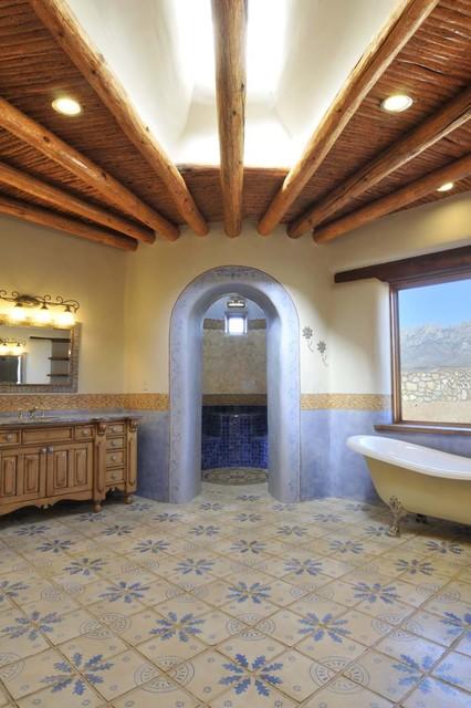 Tabarka Maghreb 7 mediterranean-bathroom