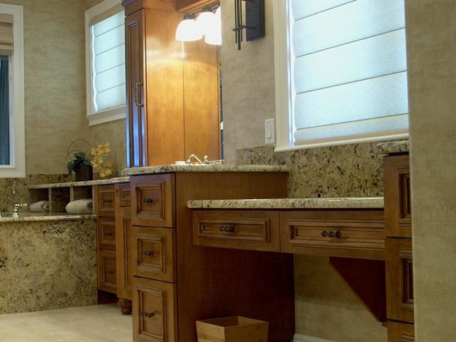 Mediterranean Bathroom Sinks: Mediterranean Beach Home