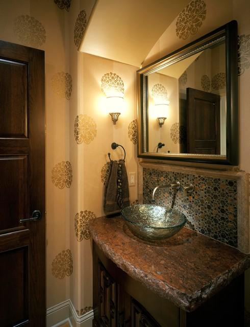 Mediterranean Showhome Mediterranean Bathroom Omaha By Curt Hofer Associates