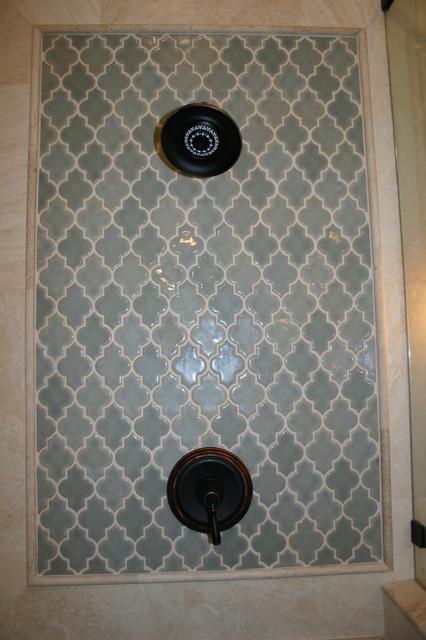 Mediterrean Modern Spa Master Bathroom eclectic-bathroom