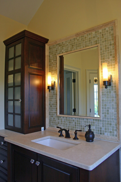 Mediterrean Modern Spa Master Bathroom eclectic-bathroom