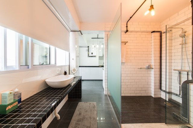 How To Decorate Around Exposed Hdb Piping Houzz