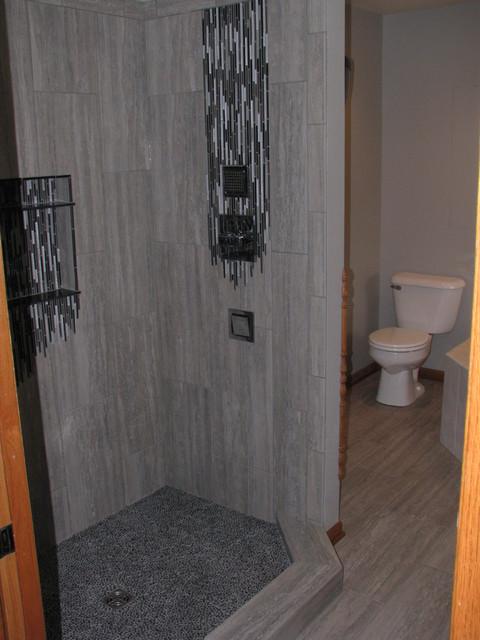 Melting Master Bath contemporary-bathroom