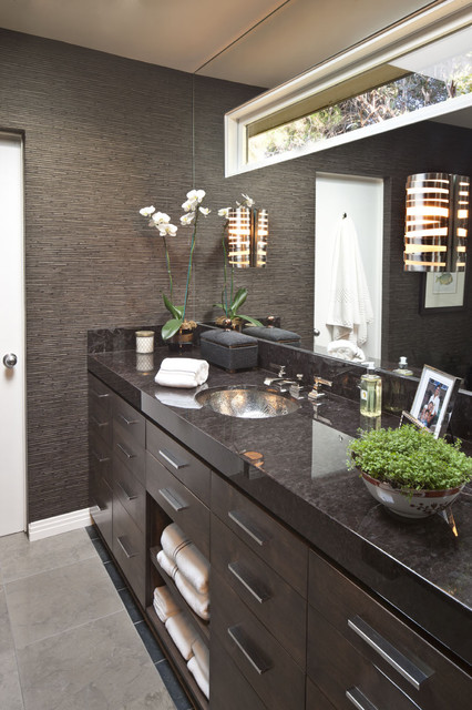 Men 39 S Bathroom Contemporary Bathroom Los Angeles By Dayna Katlin Interiors