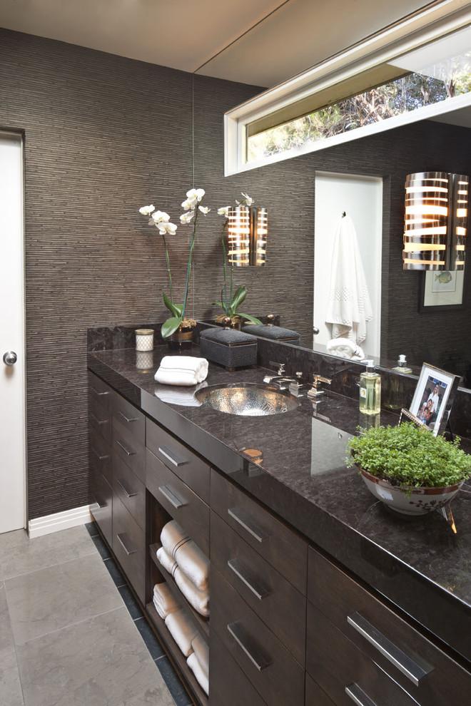Men S Bathroom Contemporary Bathroom Los Angeles By Dayna Katlin Interiors Houzz