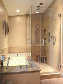 Menlo Park Remodel 2 Contemporary Bathroom San Francisco By Mckinney Photography
