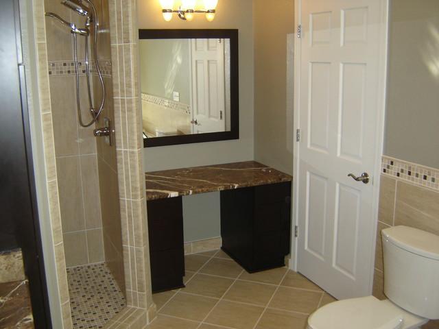 Menomonee Falls Master Bath Remodel traditional-bathroom