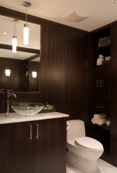 Mens dressing room bath contemporary bathroom for Bathroom dressing ideas