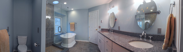 Mentor master bathroom remodel contemporary-bathroom