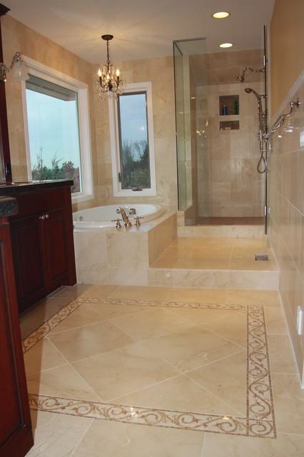 mercer island custom master bath traditional bathroom seattle