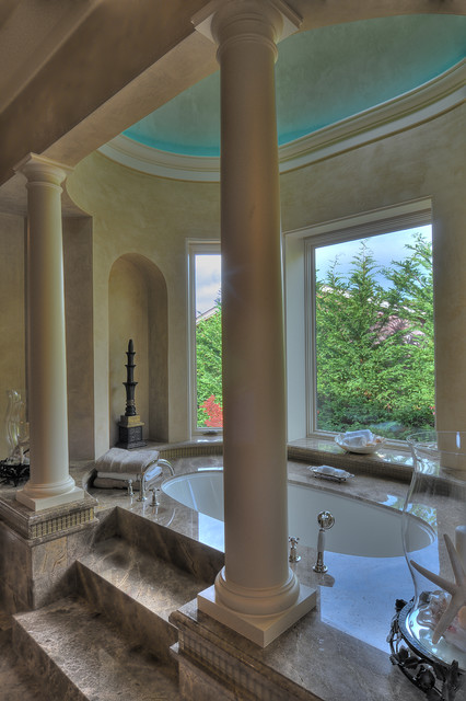 Mercer Island Estate mediterranean bathroom