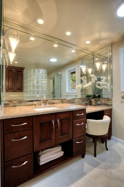 Mercer Island Master Bath Remodel traditional-bathroom
