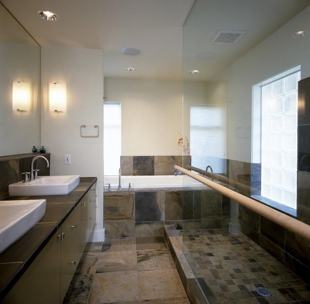 Mercer Island Residence contemporary-bathroom