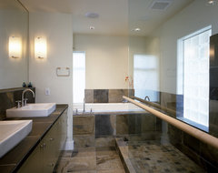 Mercer Island Residence contemporary bathroom