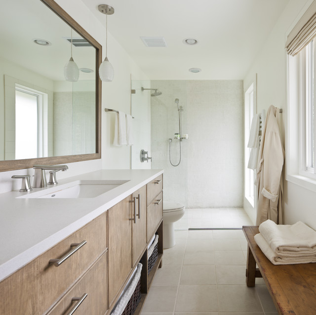 Mercer island residence modern bathroom seattle by for Bathroom design questions