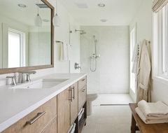Mercer Island Residence modern-bathroom