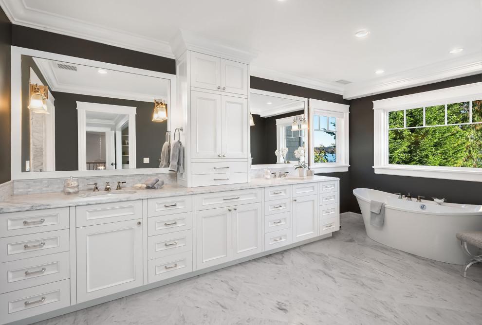 Mercer Island Retreat - Beach Style - Bathroom - Seattle ...
