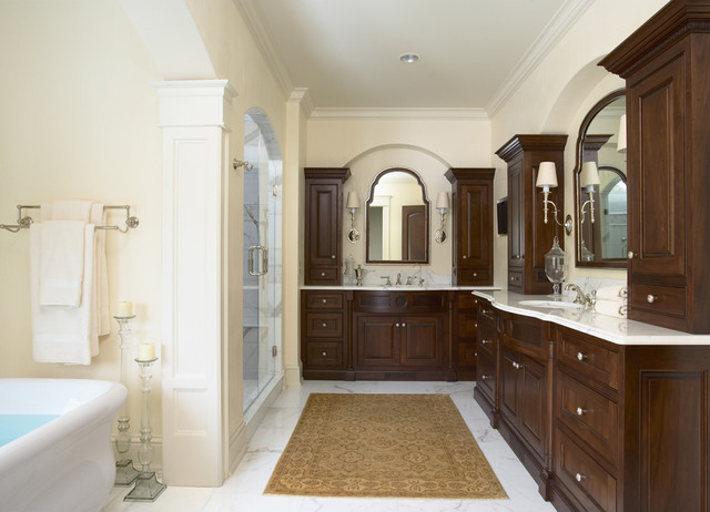 Merilane Avenue Residence 2 Master Bathroom traditional-bathroom