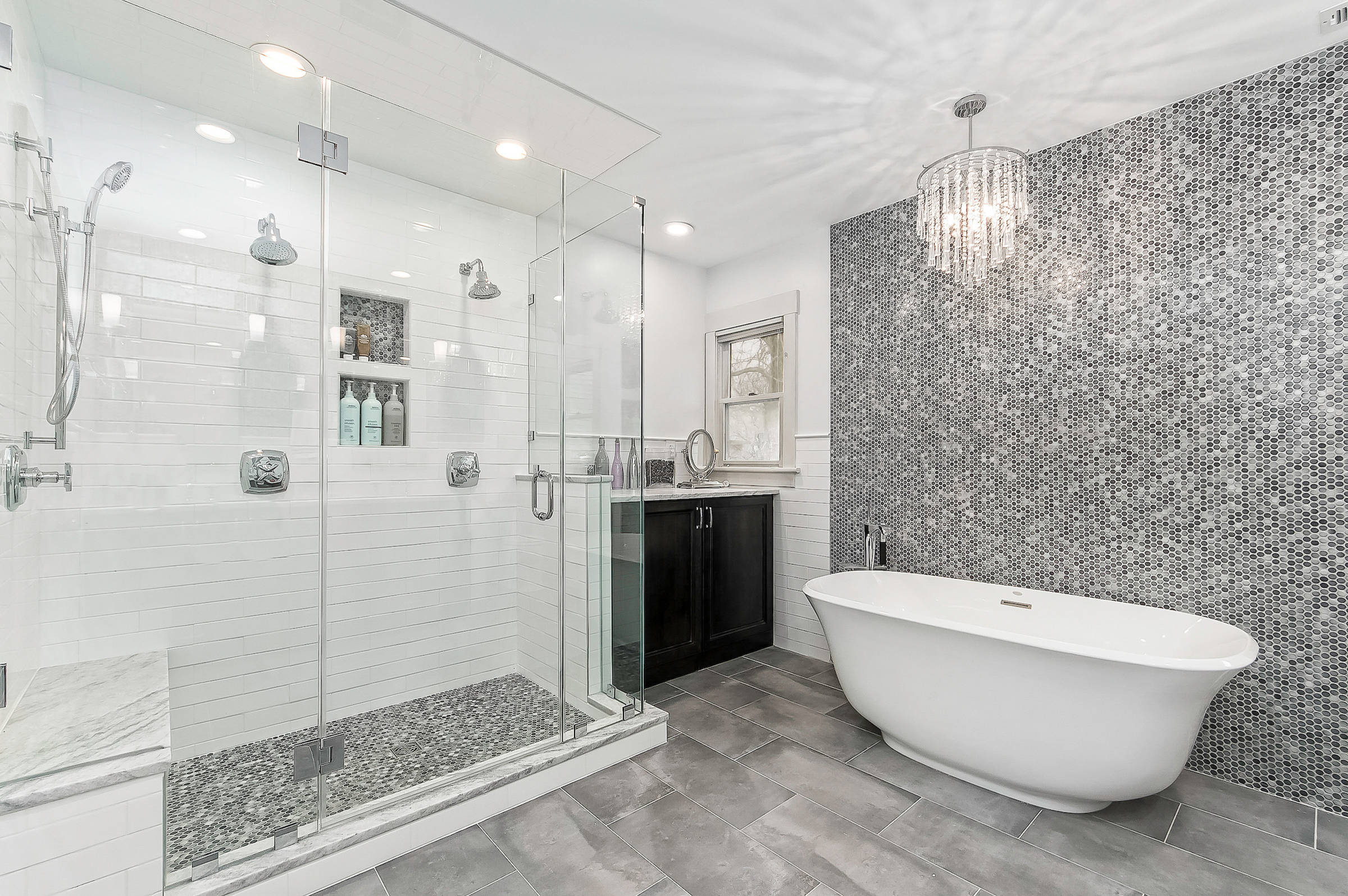 White Tile Bathroom Pictures Ideas