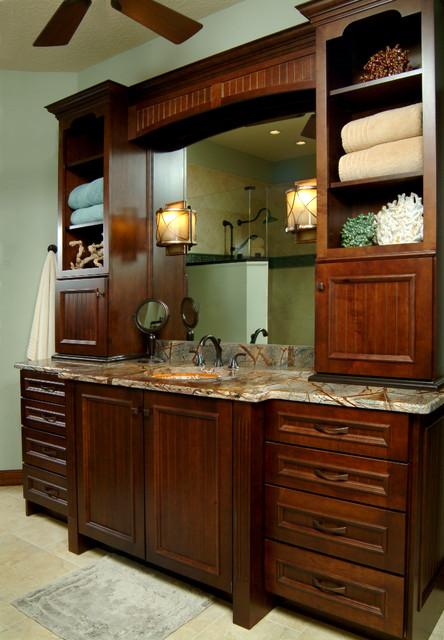 Merritt Island Coastal Lodge Transitional Bathroom Orlando By East Co