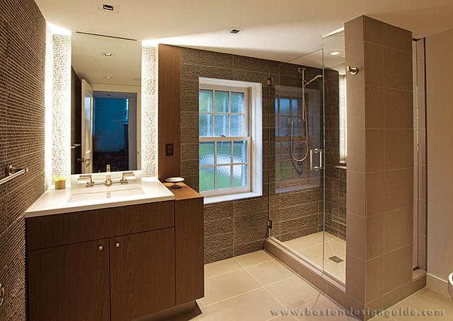 Merz Construction Inc Contemporary Bathroom Boston By Boston Design Guide