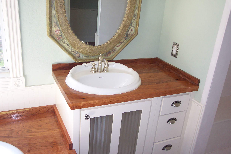 mesquite vanity bathroom counter top