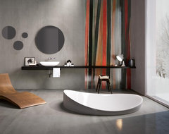 Metal Grey e Ribbon.jpg contemporary bathroom