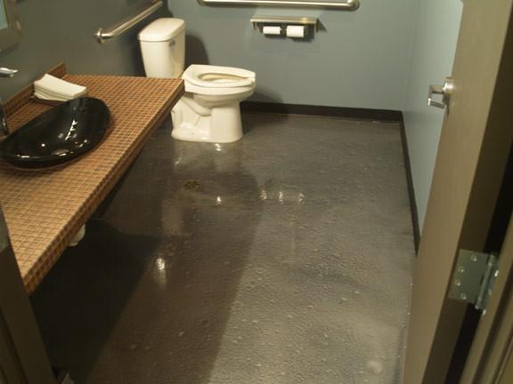 metallic epoxy rh houzz com epoxy bathroom floor tile epoxy bathroom floor cost
