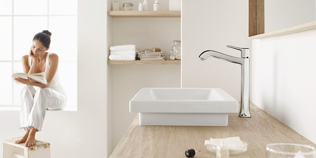 Metris C Collection By Hansgrohe traditional-bathroom