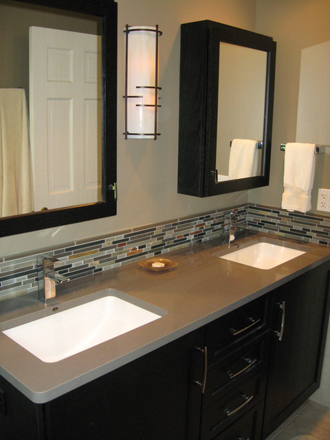 Metro Master Bath contemporary-bathroom
