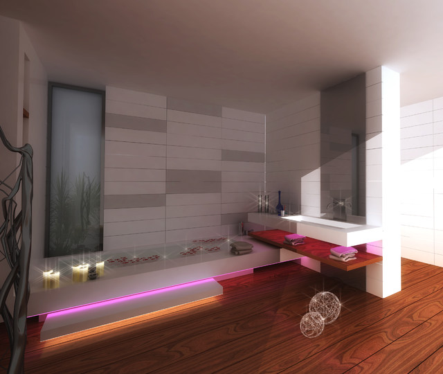 MetroPol Akcent modern-bathroom