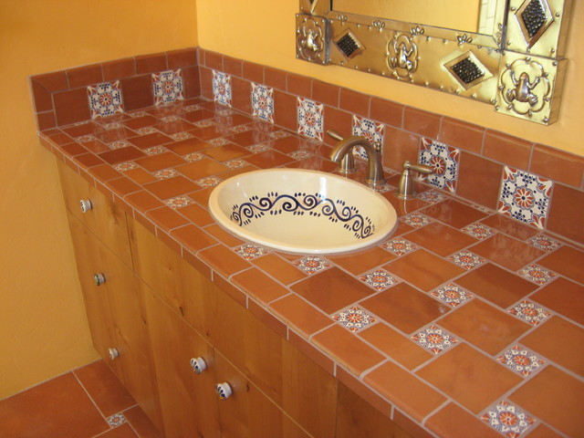 Mexican themed bathroom for Mexican themed bathroom ideas