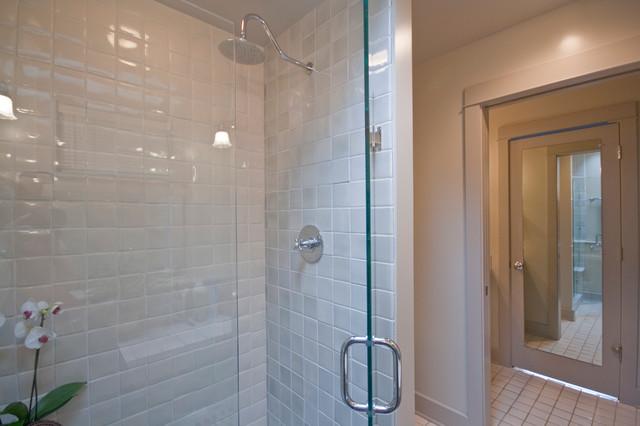 Mexican Tile Shower Modern Bathroom Portland By
