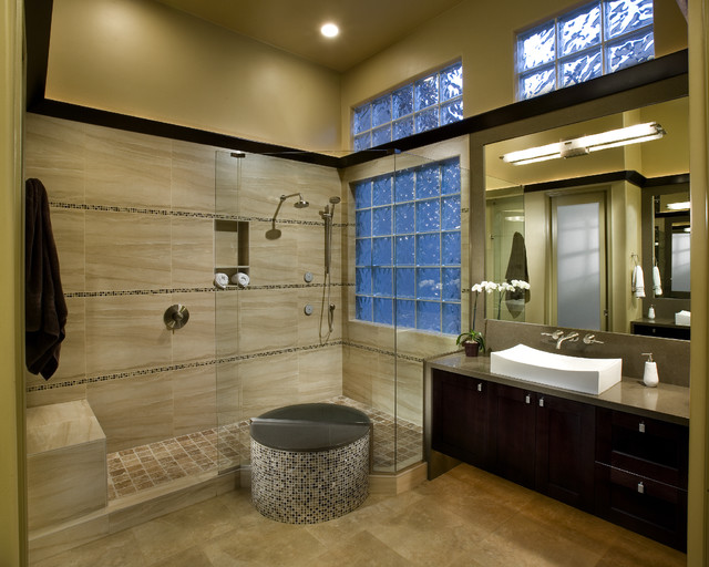 Modern Master Bathroom Designs: MI Master Bathroom