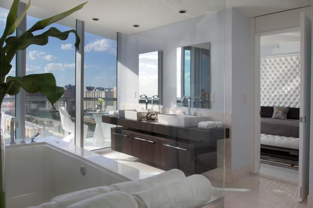 Miami Interior Design Jade Ocean By Britto Charette Contemporary Bathroom Miami By