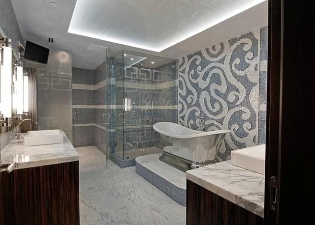 Miami luxury condo contemporary bathroom miami by for Heritage bathrooms