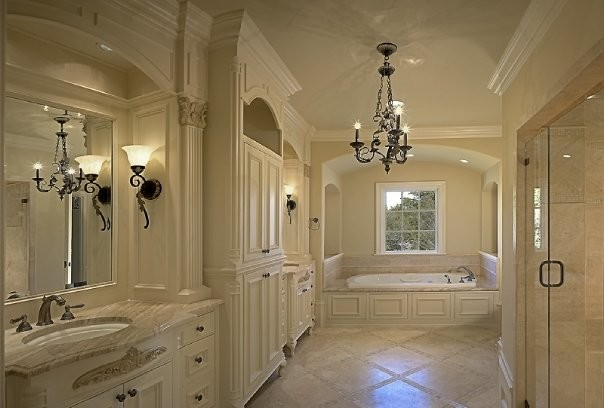 michael molthan luxury homes interior design group traditional bathroom dallas by. Black Bedroom Furniture Sets. Home Design Ideas