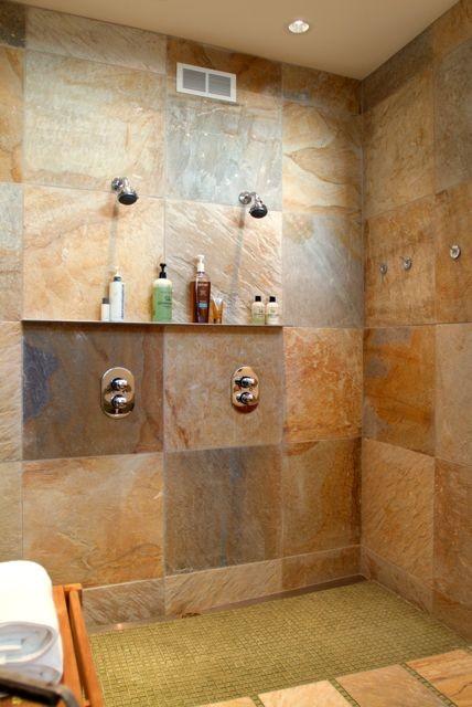 Michigan lake retreat contemporary bathroom chicago for Weinstein kitchen and bath