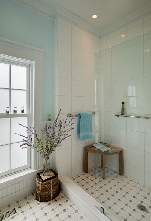 How to age proof your bathroom for English cottage bathroom ideas