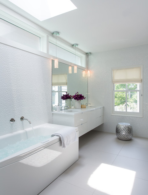 Mid Cambridge Full Home Renovation - Contemporary - Bathroom - Boston - by Fresh Start ...