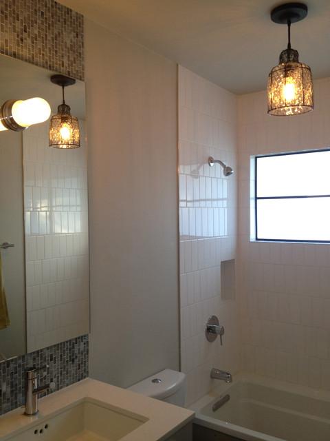 Mid-Century Bath Remodel contemporary-bathroom