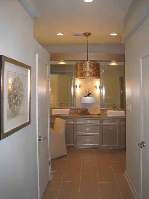 Kitchen Bath Remodel Gives Mid Century Home Modern Updates: Mid Century Bath Update