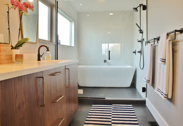 mid century fixer upper becomes forever home midcentury bathroom
