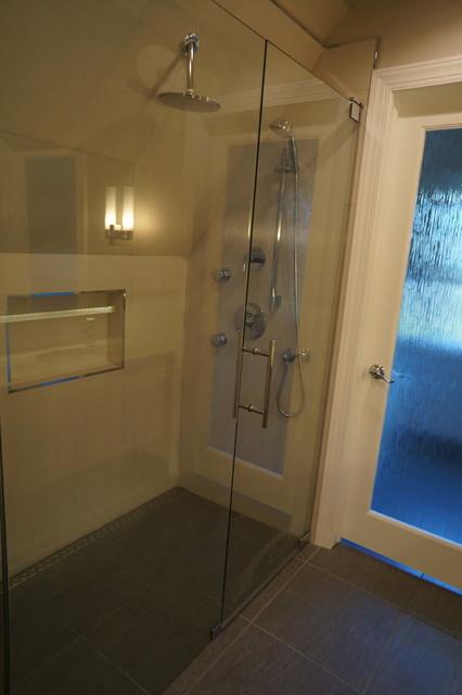mid century master bath modern bathroom philadelphia